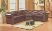 sofa chesterfield de canto