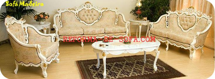 Reforma de sof de madeira poltrona luiz xv sof - Sofas estilo colonial ...