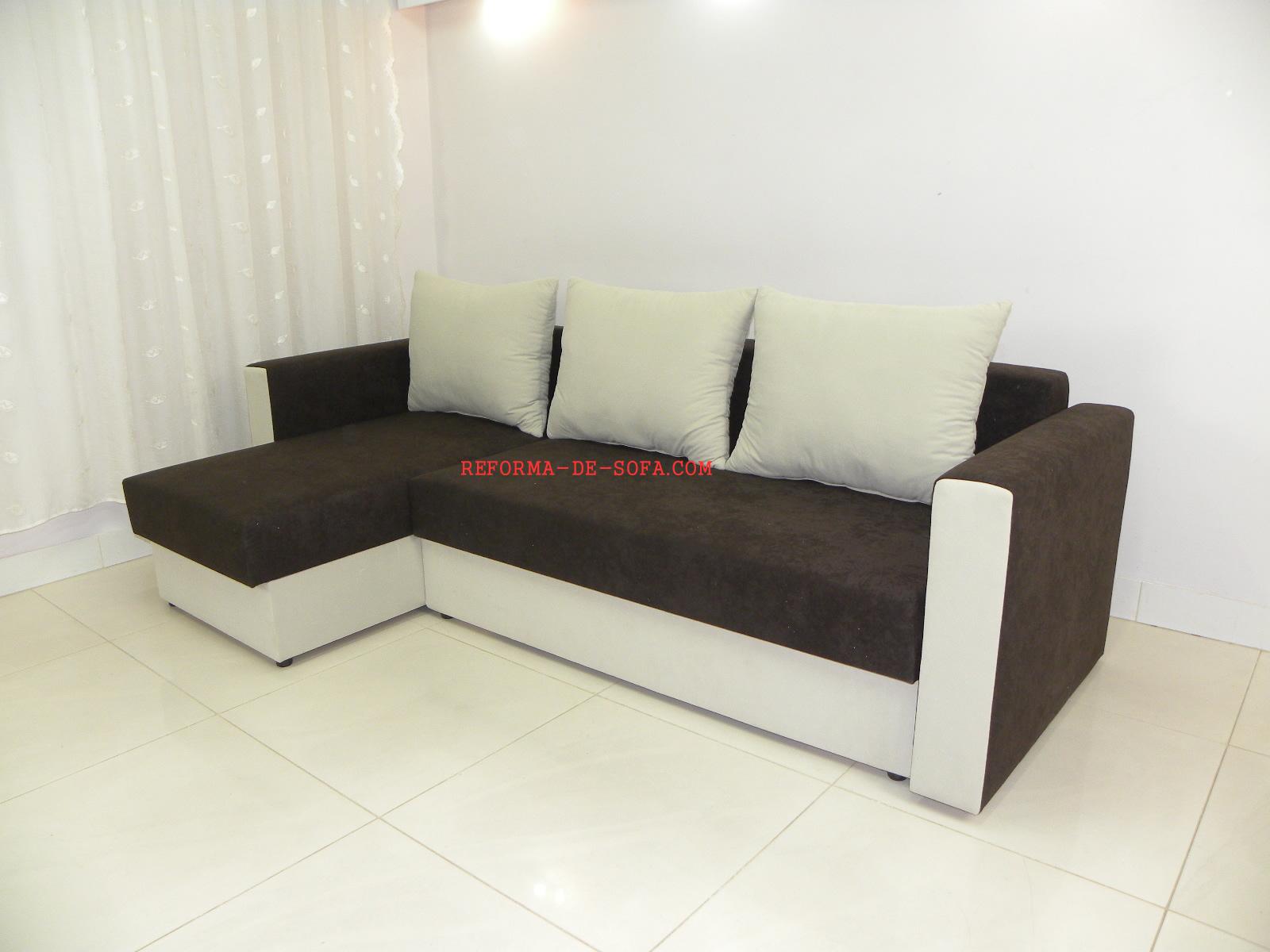 Mudar o modelo do sof sof com novo visual diminuir o - Modelos de sofas ...