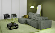 sofa retratil e reclinavel